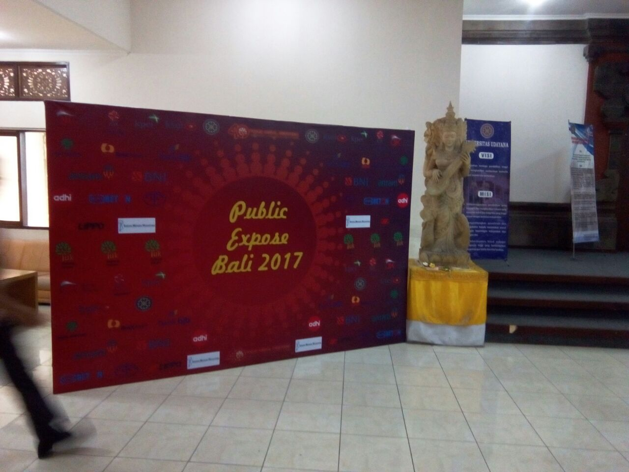 Backdrop event PUBLIC EXPOSE BALI 2017