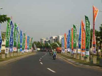 Umbul Umbul Jagir Bali Advertising